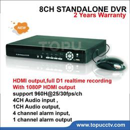 UK 8ch d1 dvr hdmi output - Free shipping 8CH DVR video Recorder H.264 HDMI Output Full D1 Realtime Recording Hybrid NVR TP-6008