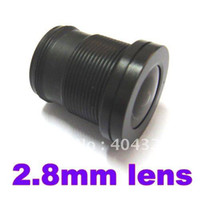 Wholesale 10pcs mm Wide Angle Lens Fixed CCTV Camera IR Board Degrees