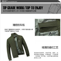 Wholesale 2013 Hottest Warm Coat Men Winter Clothing Air Force One Jacket KDDZ