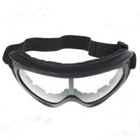 Wholesale ABS Sponge UV400 Protection Safety Goggles Glasses with Elastic Strap Translucent Lens