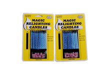 Wholesale magic relighting candles birthday wedding party gag joke making stick candle April fool