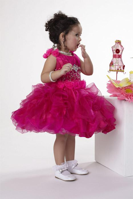 2015 Hot Designer Llittle Girls Pageant Dresses With Cupcake Skirt ...
