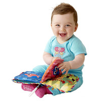 Wholesale Classic Baby Discovery Book Soft Activity Book Infant toy toys baby Cloth Book books