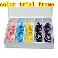 Cheap optical trial frame ,color ful eyeglasses trial frame ,5PCS,eyewear trial frame ,LOW PRICE