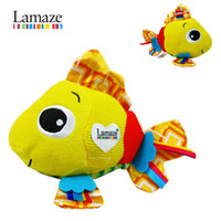 Wholesale Lamaze toy Lamaze feel me fish development toy Lamaze fish toys doll cm baby toy velvet toys