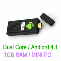 Wholesale UG802 Dual Core RK3066 Android Mini PC Google TV Box GB DDR3 GB Internet HDMI Wifi Player