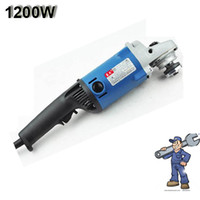 Wholesale 1200W Angle Grinder Hand Grinder Polisher Max Speed mm DHL Freeshipping