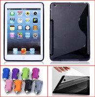 3 in 1 S Line TPU Soft Case+ Crystal LCD Screen Protector Fil...