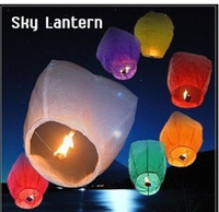 Classic Small New Year Chinese Kongming lantern Sky Lanterns Wishing Lantern fire balloon Birthday Lanterns