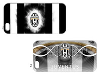 Wholesale juventus hard back case cover for iphone g th