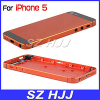 For iphone5 Battery Cover Metal Back Housing with Middle Pla...