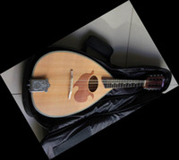 antique mandolin - New antique Mandolin free bag natural
