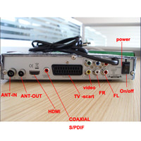 Wholesale DVB T HD Receiver Support PVR with USB HD DTV Functions K K COFDM Modes supported