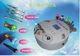 Wholesale 4 in hot selling diamond microdermabrasion skin peel with mesotherapy bipolar rf cryo photon