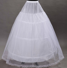 Wholesale Hot Sale Wedding Dress Petticoats Bridal Accessories Net A Line Ball Gown Wedding Dresses Layered