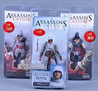 NECA ASSASSIN'S CREED II 2 EZIO ACTION FIGURE WHITE, Assassin...