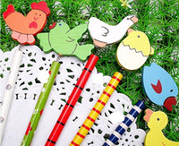 animal markers - Cartoon Wooden Pencil cute pencil animal pencil promotional gift cm designs