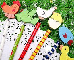 Wholesale Cartoon Wooden Pencil cute pencil animal pencil promotional gift cm designs