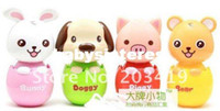 Wholesale Mini Cute Toy egg pet Portable fan Battery Cartoon Pattern Summer Electric C