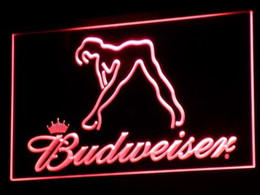 a133-r Budweiser Exotic Dancer Stripper Bar Light Signs