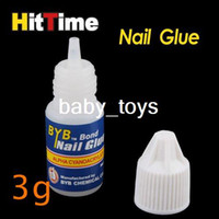 Wholesale 10 x g Acrylic Nail Art Glue French False Tips Manicure