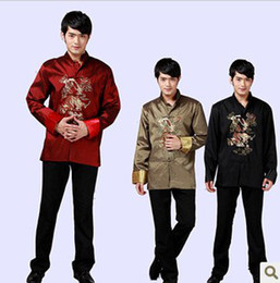 Wholesale Dragon Tang Costume Chinese costume Traditional Chinese ethnic clothing Tang suit Kung fu jacket