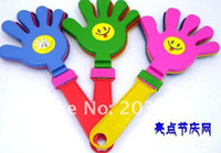 Wholesale Hand Clapper Clap Noise Maker Baby Kid Pet Cat Dog Toy cheering party sport