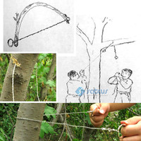 Wholesale Steel Wire Saw Scroll Saw Emergency Camping Hunting Camp Survival Tool