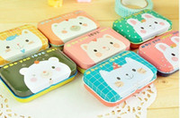 Wholesale Cute Animal jewelry box storage box small tin box cm cm