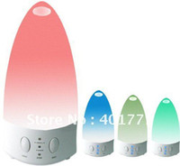 Wholesale 2011 NEW Color changing Ultrasonic Air Humidifier and Aroma Diffuser Lamp Air purifier Air ioniser