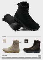 Wholesale Fant huat Brand Design Cheap Men Outdoor boots army high cut shoes mens hiking shoes