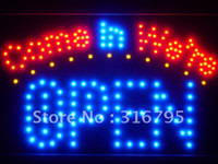 Wholesale led003 b Come in we re OPEN LED Neon Sign White Board