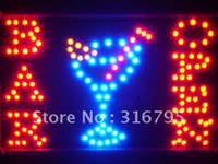 Wholesale led100 r BAR OPEN Cocktails Led Neon Beer Light Sign