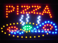 pizza sign - led060 r Pizza Shop LED Neon Sign WhiteBoard