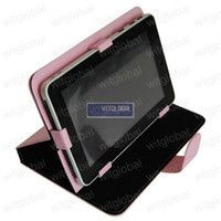 Wholesale Colorful Magic Leather Case Cover Film For quot DOPO Double Power T T T711 T708 Tablet