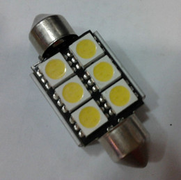 36mm 39mm 42mm canbus 6 smd 5050 dome lights top lights led bulbs 578 2112 6411 LED Dome Tunk Area Cargo Light Bulb 39mm 12v led dome light