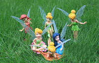 tinkerbell - High Quality PVC Tinkerbell Fairy Adorable Figures Toys Doll NEW and retail Tinker bell