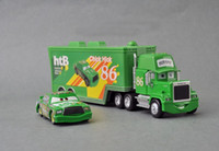 Wholesale Cars Toys 86 Truck - PIXAR Cars 2 Toys CARS 2 #86 TRUCK AND CHICK HICKS #86 MACK HTB CHICK HICK Pixar Car Cars2