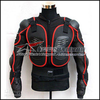 Wholesale Motorcycle Sport Bike FULL BODY ARMOR Jacket with tags ALL size red hj03