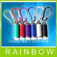 Wholesale Lowest Price HOT RA Mini Metal Torch Flashlight Light Lamp for keychain Camping Climbing