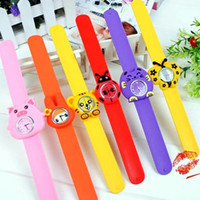Wholesale Mixed styles One touch jelly watch Cartoon cute fashion WATCH Watches Suitable for people