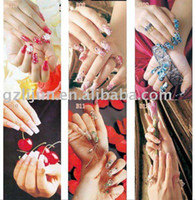 Wholesale hot sell nail art poster