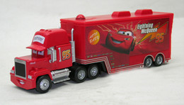 Wholesale Pixar Cars General mobilization MACK TRUCK Toy Red MACK HAULER McQueen cars Dolls