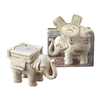 Wholesale Elephant mousse candle mousse fashion classical resin gift mousse