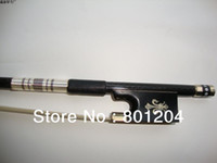 Wholesale 2pcs professional black Carbon fiber violin bow