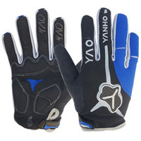 Wholesale 2012 Cycling Bike Bicycle Winter Warm Antiskid GEL sports Full Finger Silicone gloves Size M L XL
