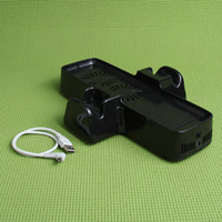 Wholesale For Microsoft XBOX360 XBOX Slim in1 USB Cooling Fan Controller Stand Holder