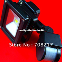 Wholesale News W Watt LED Floodlight Flood Light Security Black Induction project light lamp