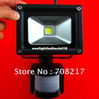 Wholesale HOT SALE PIR W Watt LED Floodlight Flood Light Security Black Outdoor led sensor floodlight