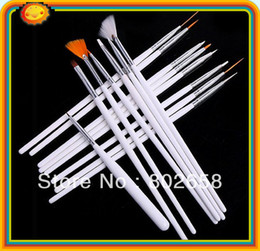 Wholesale Professional Nail Art Brush Set Design Painting Pen for natural false and D Bea